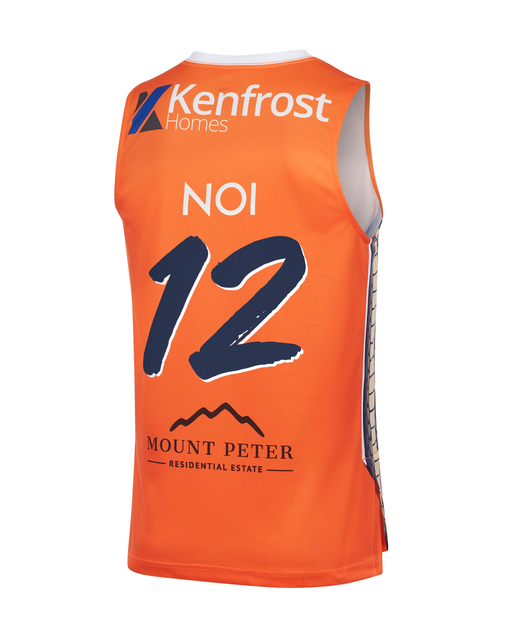Cairns Taipans 19/20 Authentic Home Jersey - Kouat Noi