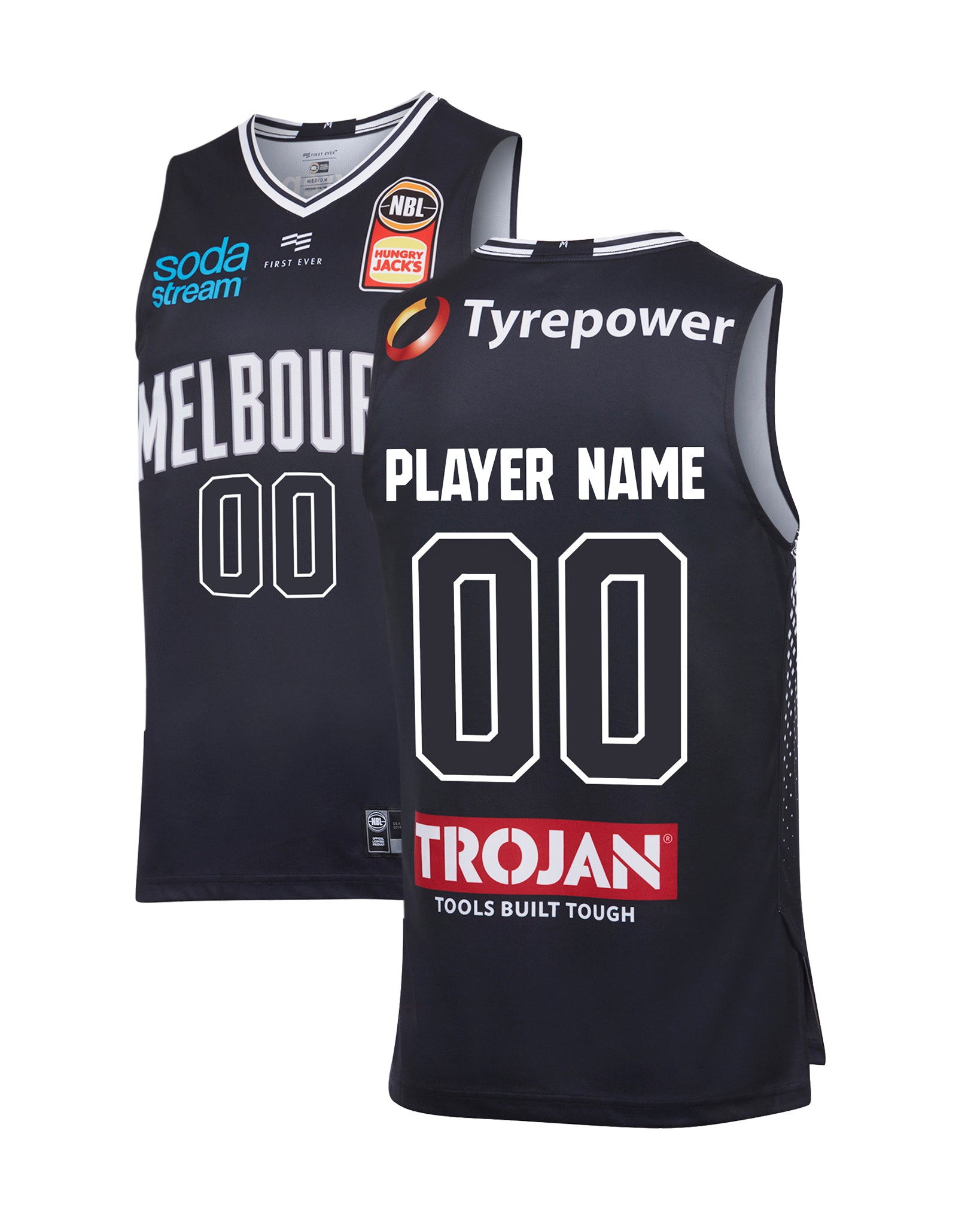 Melbourne United 19/20 Authentic Home Jersey - Other Players