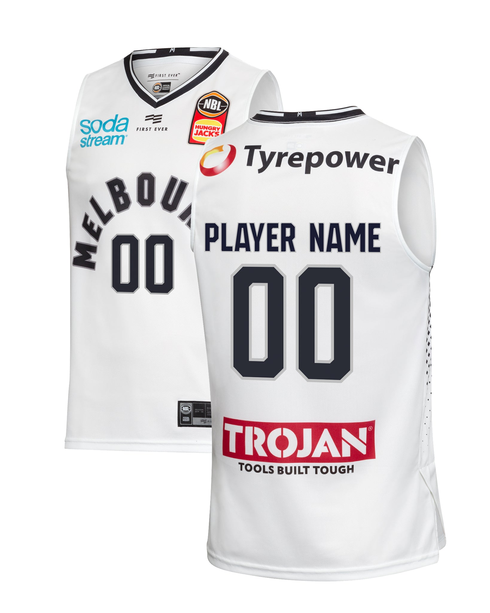 Melbourne United 19/20 Authentic Away Jersey - Other Players