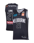 melbourne-united-19-20-authentic-home-jersey-shawn-long - Front and Back Image