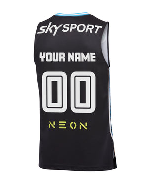 Personalised New Zealand Breakers 19/20 Authentic Home Jersey
