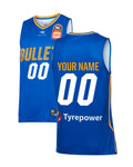 Personalised Brisbane Bullets 19/20 Authentic Home Jersey