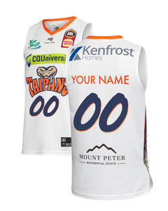 Personalised Cairns Taipans 19/20 Authentic Away Jersey
