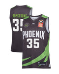 s-e-melbourne-phoenix-19-20-authentic-home-jersey-terry-armstrong - Front and Back Image
