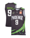 s-e-melbourne-phoenix-19-20-authentic-home-jersey-ben-magden - Front and Back Image