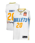 Brisbane Bullets 19/20 Authentic Away Jersey - Nathan Sobey