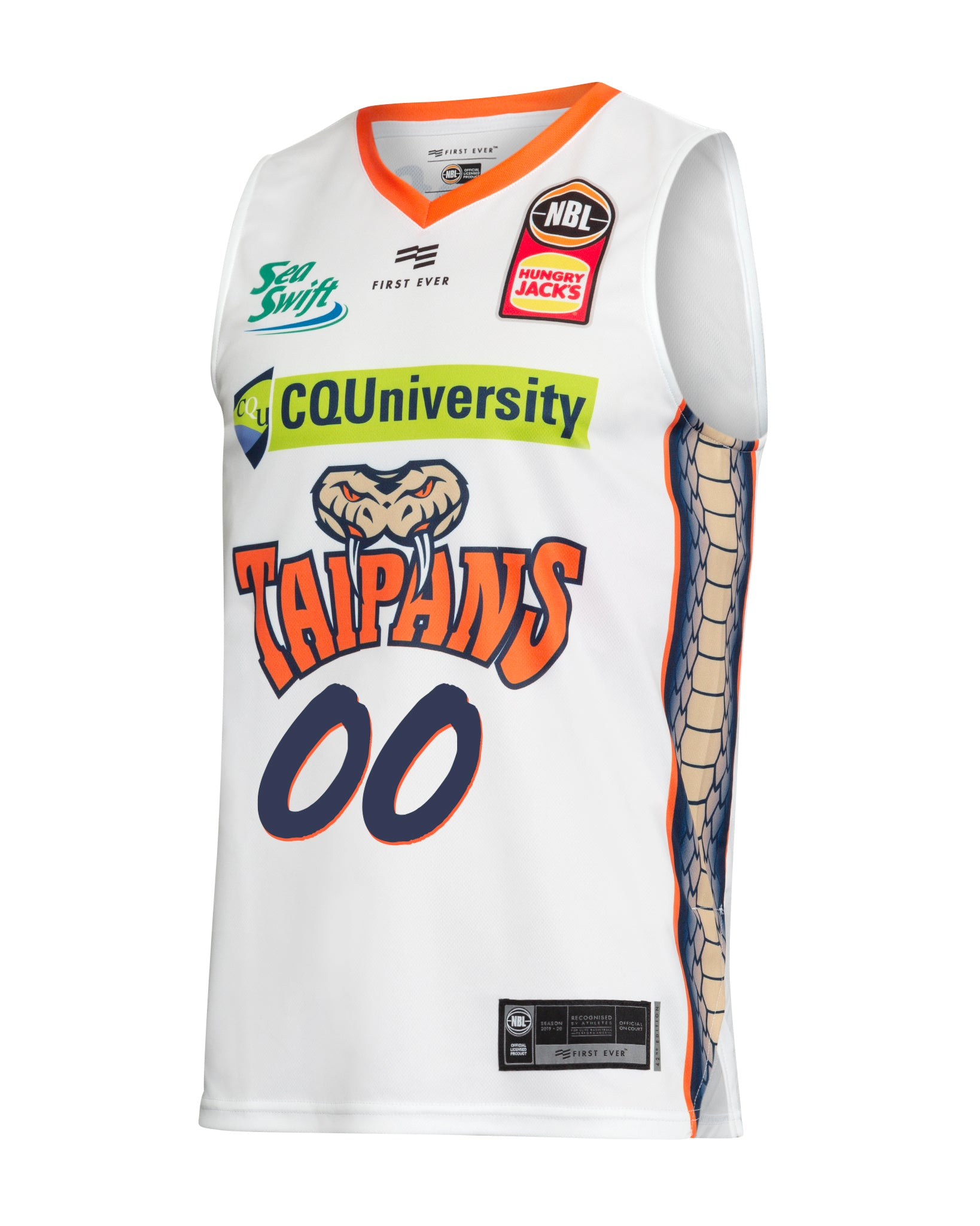 Cairns Taipans 19/20 Authentic Away Jersey - Other Players