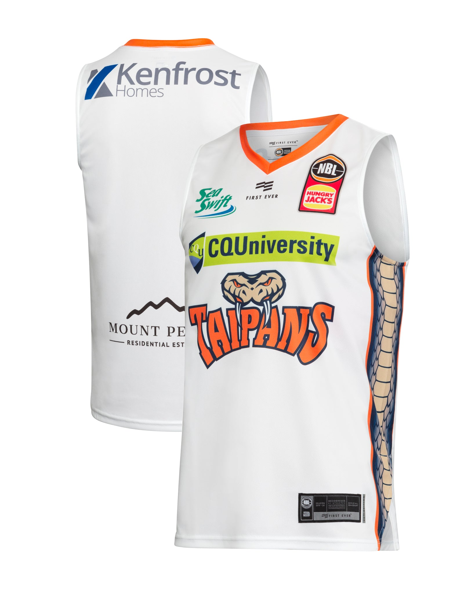 Cairns Taipans 19/20 Authentic Away Jersey