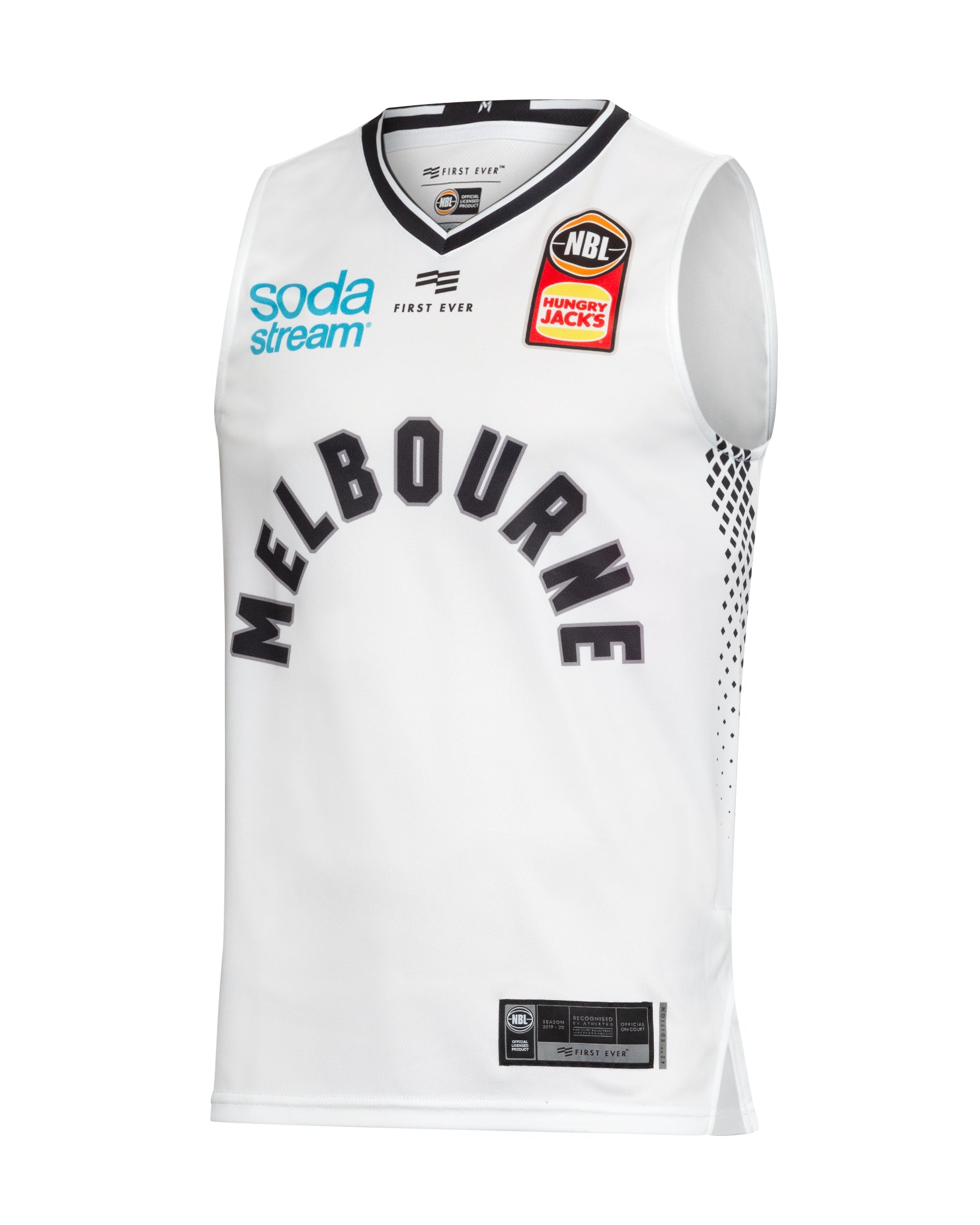 Melbourne United 19/20 Authentic Away Jersey