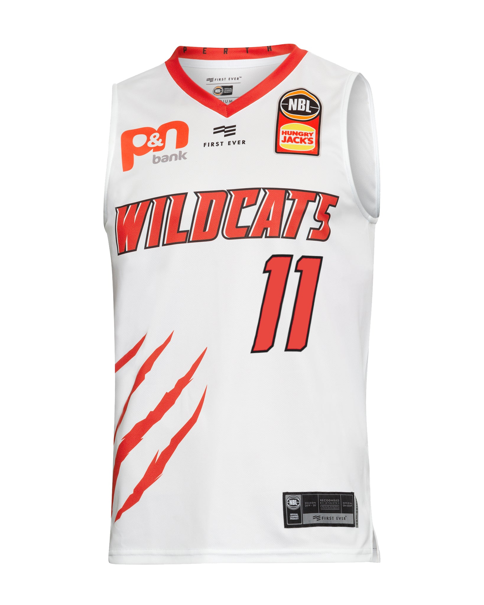 Perth Wildcats 19/20 Authentic Away Jersey - Bryce Cotton
