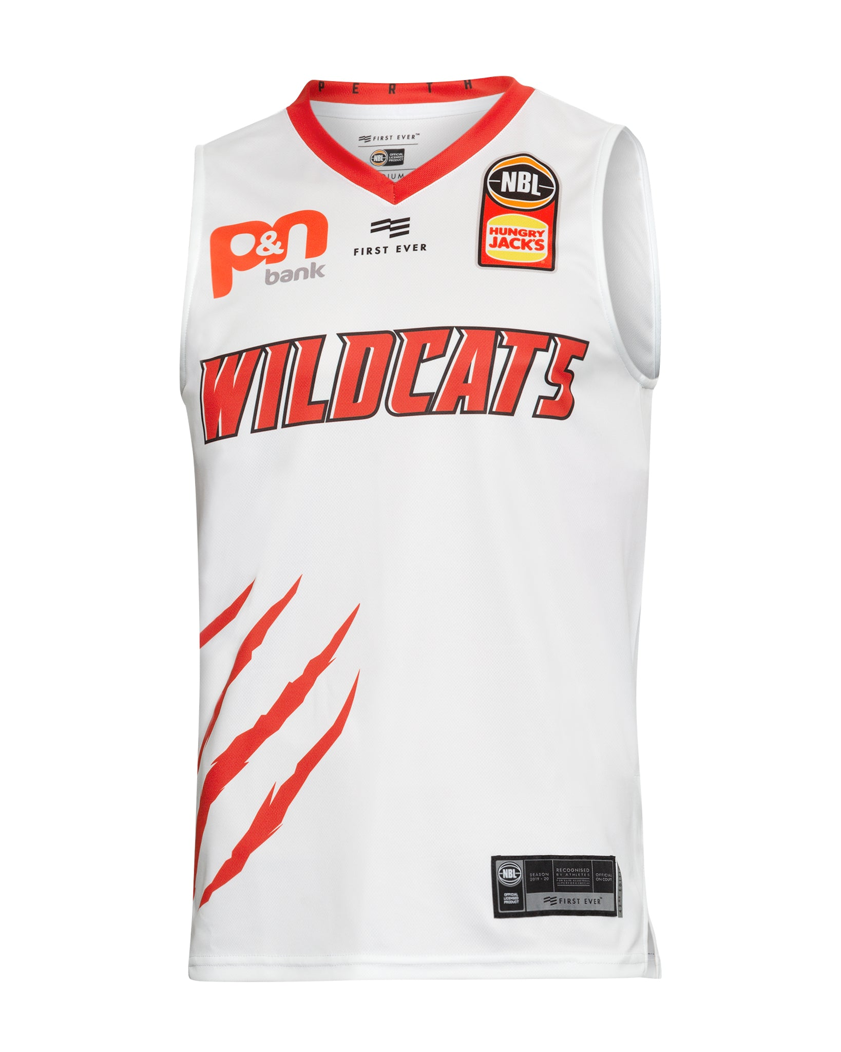 Perth Wildcats 19/20 Authentic Away Jersey