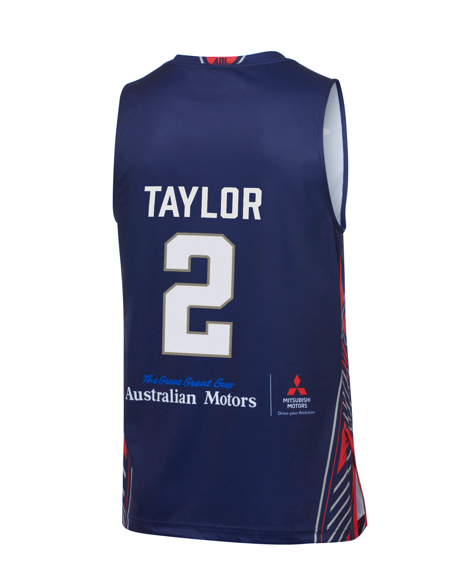 adelaide-36ers-19-20-authentic-home-jersey-deshon-taylor - Back Image