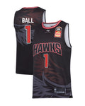 illawarra-hawks-19-20-authentic-home-jersey-lamelo-ball - Front and Back Image