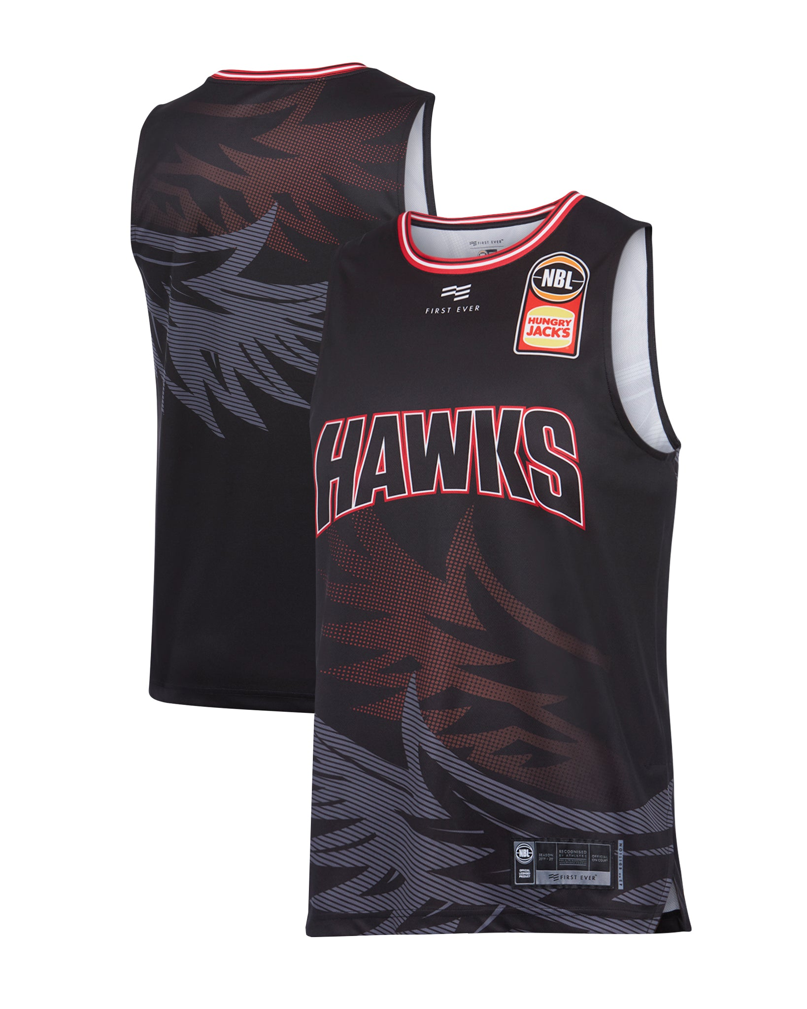 Illawarra Hawks 19/20 Authentic Home Jersey (without SLAM)