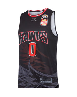 illawarra-hawks-19-20-authentic-home-jersey-aaron-brooks - Front Image
