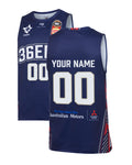 Personalised Adelaide 36ers 19/20 Authentic Home Jersey