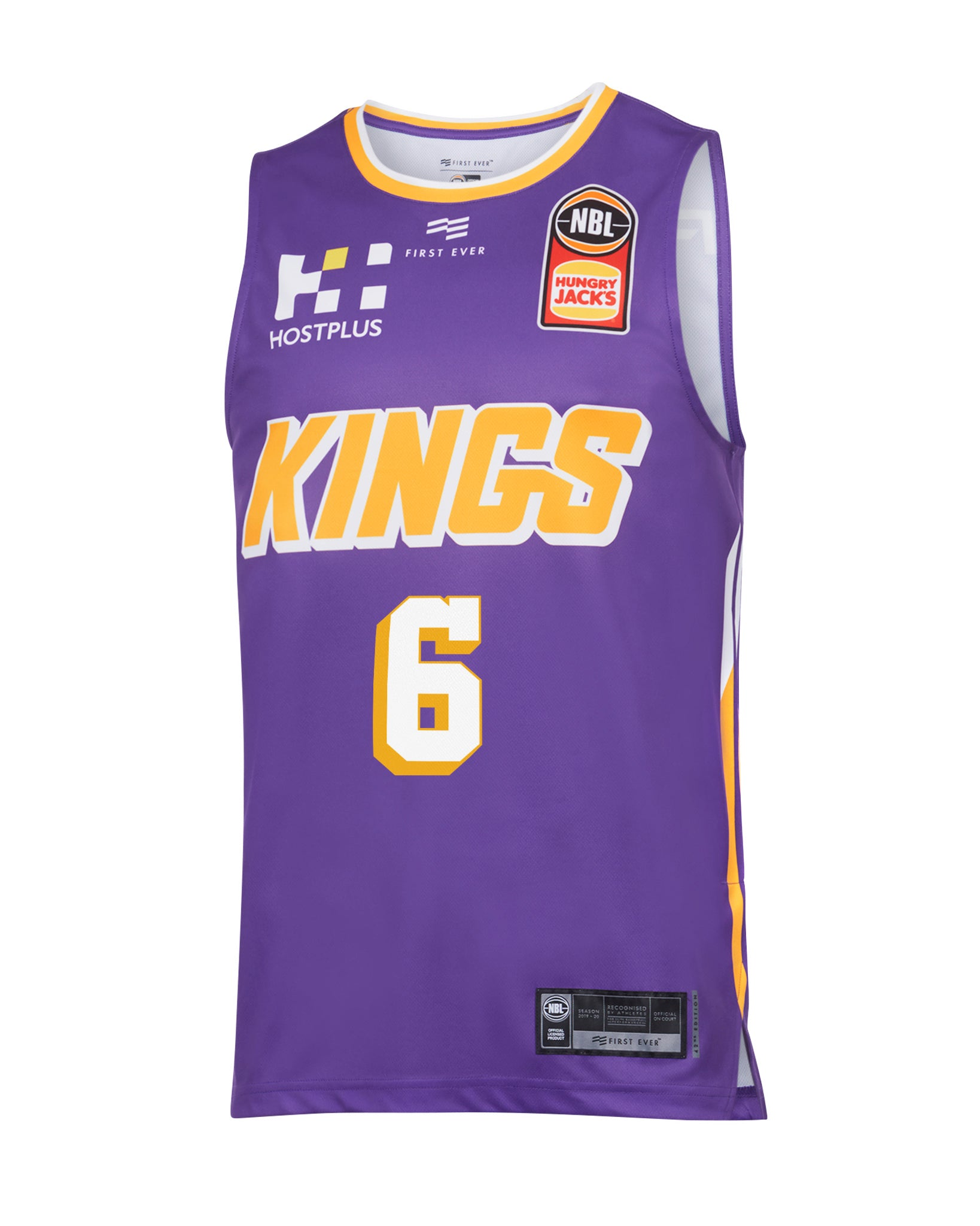 sydney-kings-19-20-authentic-home-jersey-andrew-bogut - Front Image