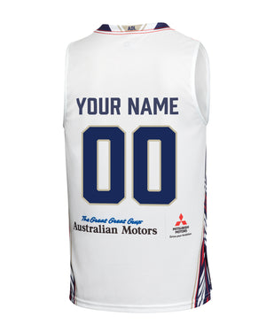 Personalised Adelaide 36ers 19/20 Authentic Away Jersey