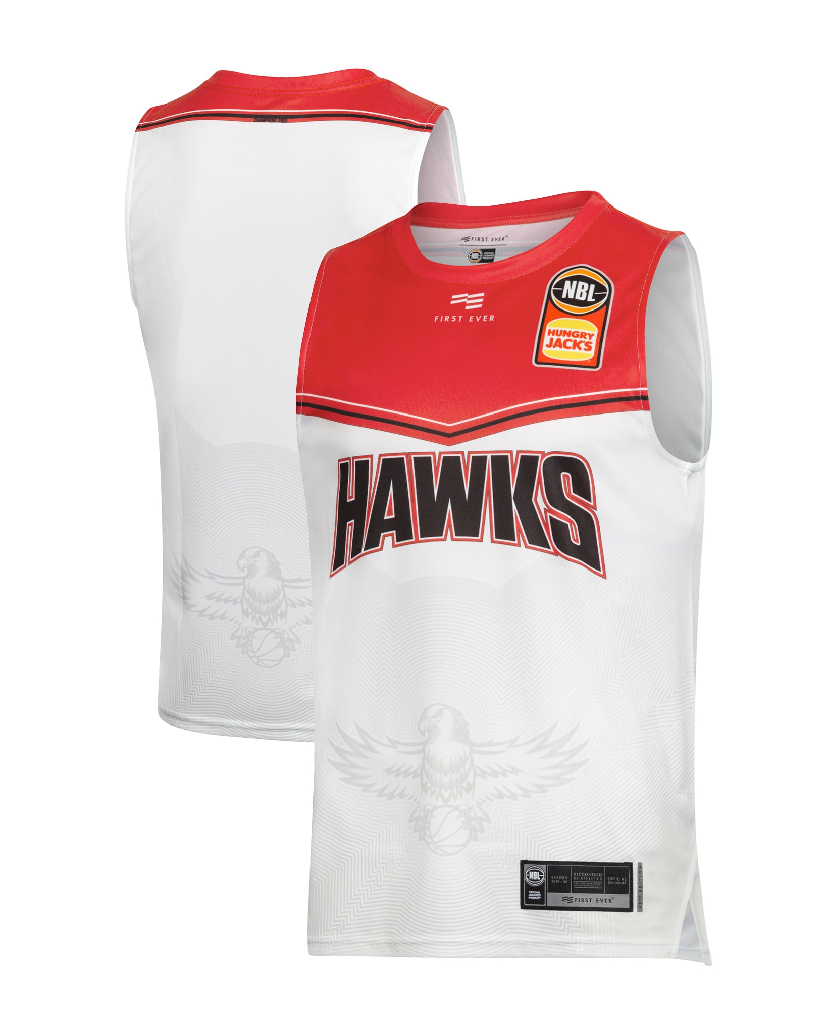 Illawarra Hawks 19/20 Authentic Away Jersey