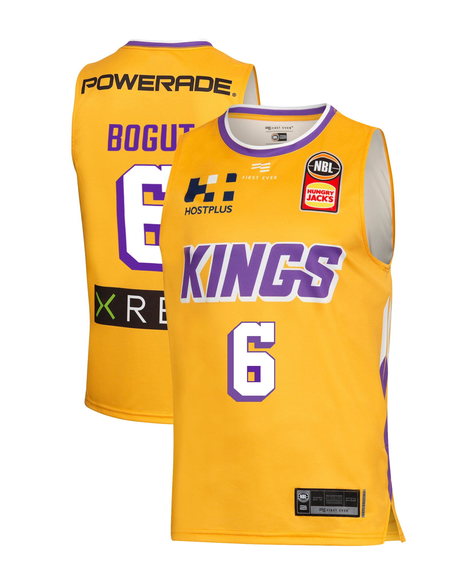 Sydney Kings 19/20 Authentic Away Jersey - Andrew Bogut