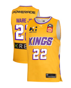 Sydney Kings 19/20 Authentic Away Jersey - Casper Ware Jr.