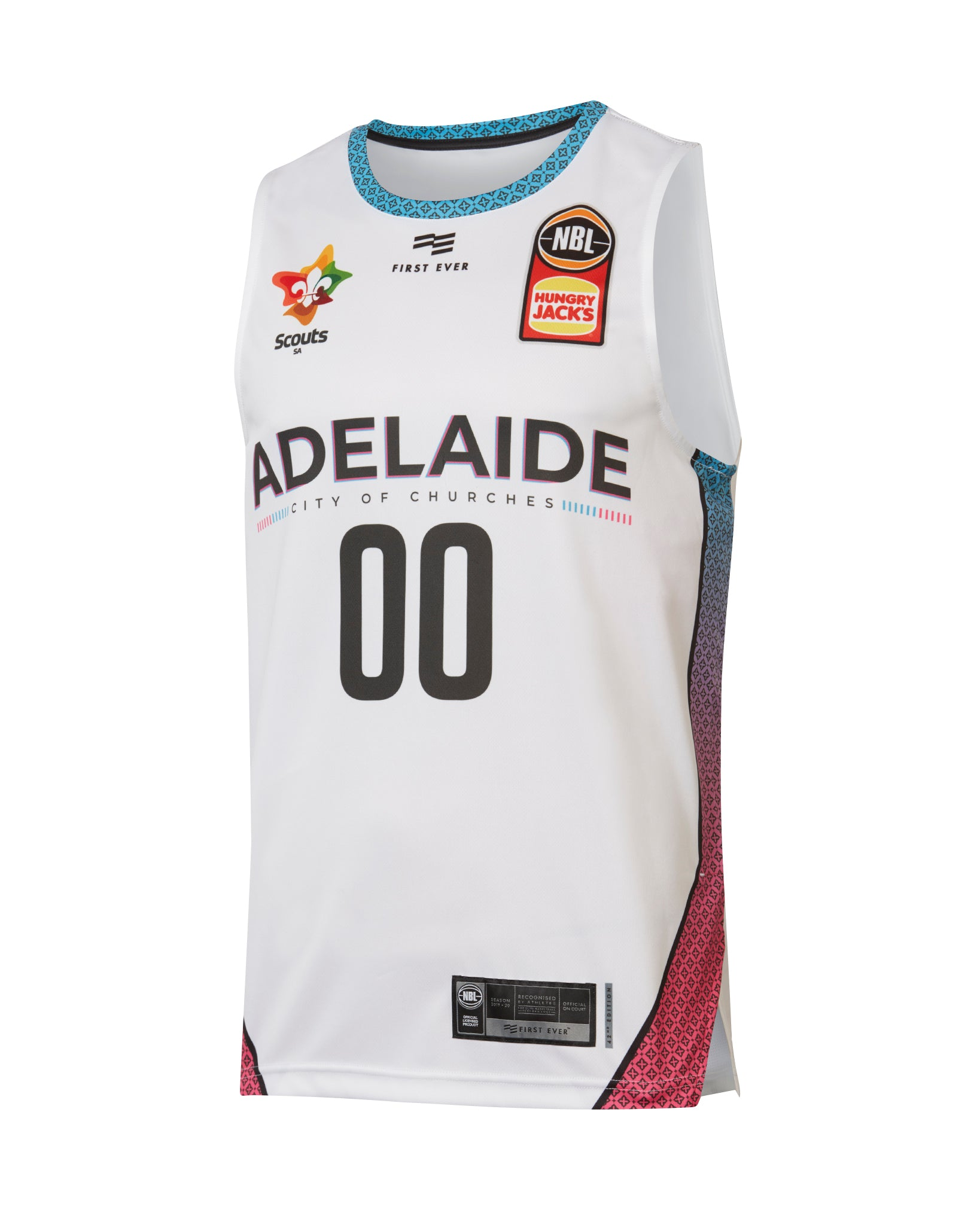 Personalised Adelaide 36ers 19/20 Authentic City Jersey