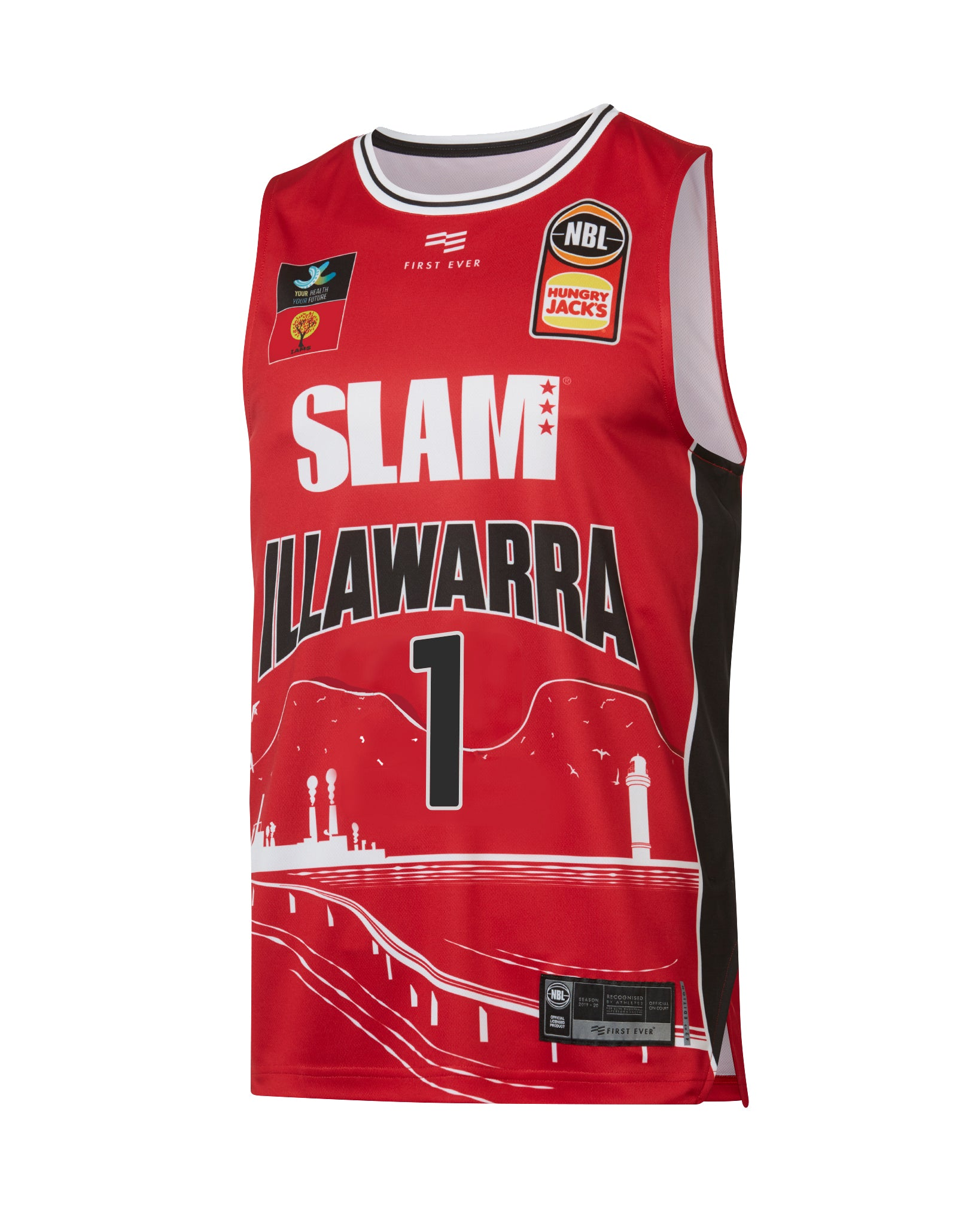 Illawarra Hawks 19/20 Authentic City Jersey - LaMelo Ball