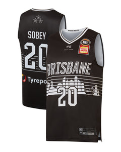 Brisbane Bullets 19/20 Authentic City Jersey - Nathan Sobey