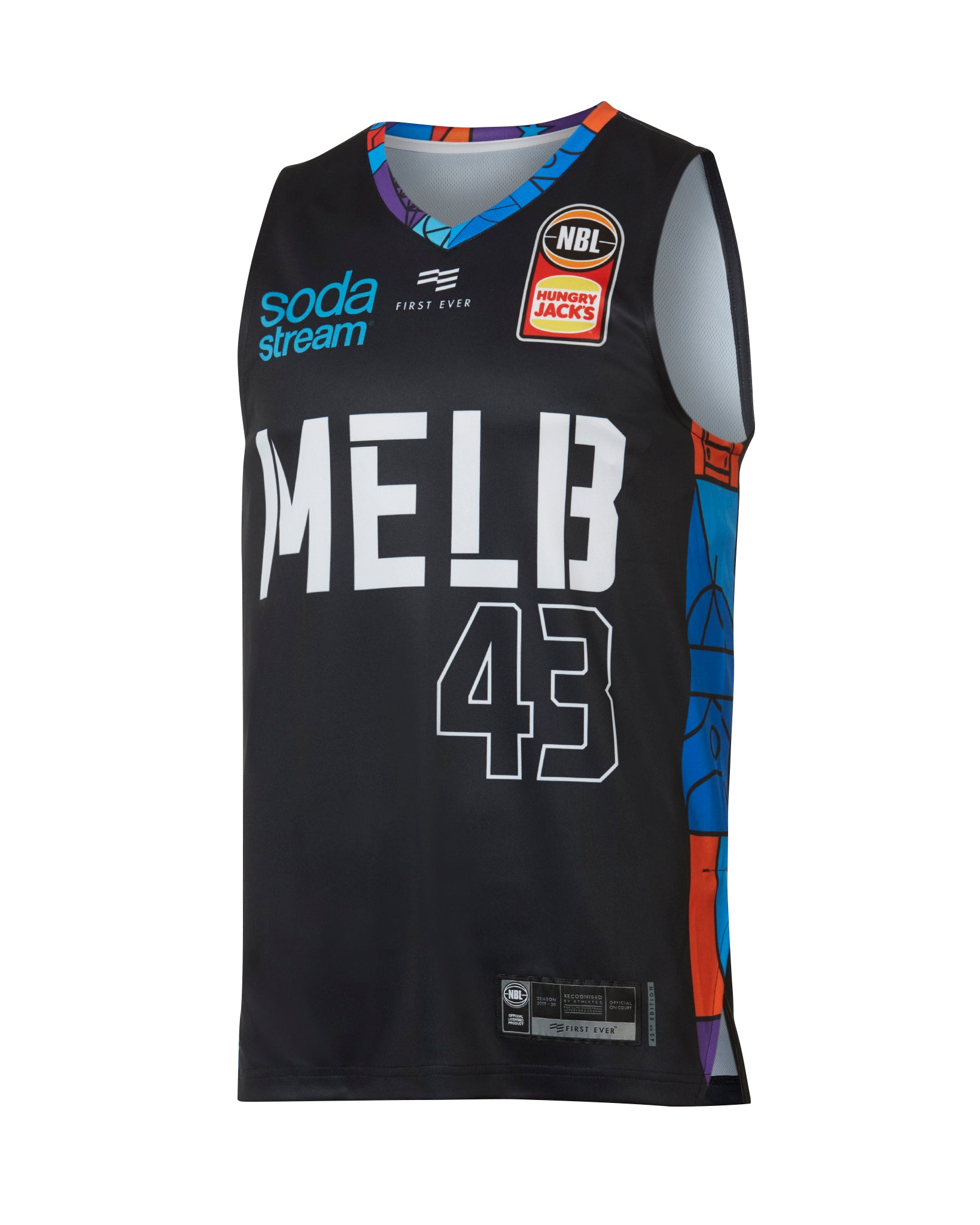 Melbourne United 19/20 Authentic City Jersey - Chris Goulding