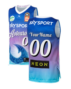 Personalised New Zealand Breakers 19/20 Youth Authentic City Jersey