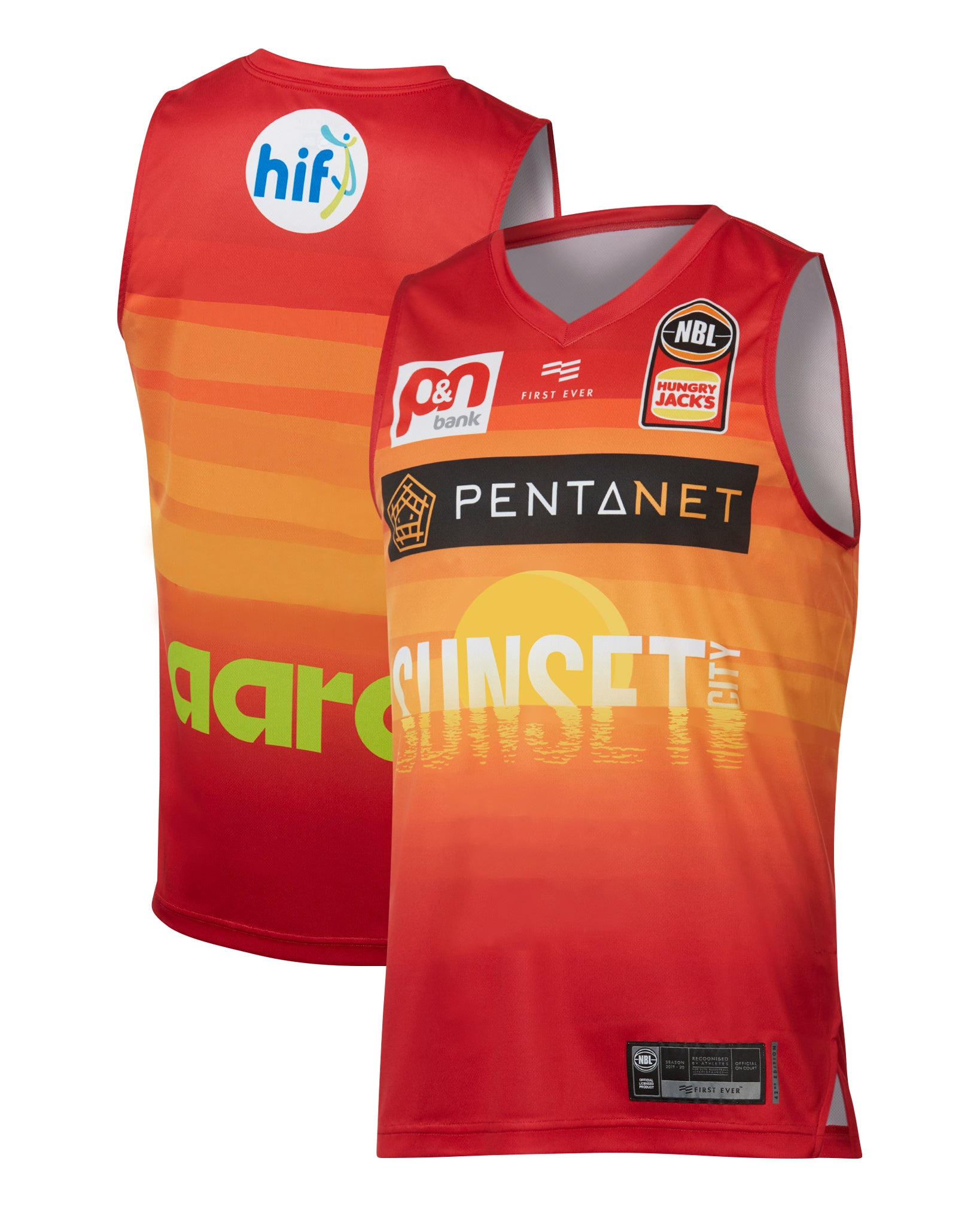 Perth Wildcats 19/20 Authentic City Jersey