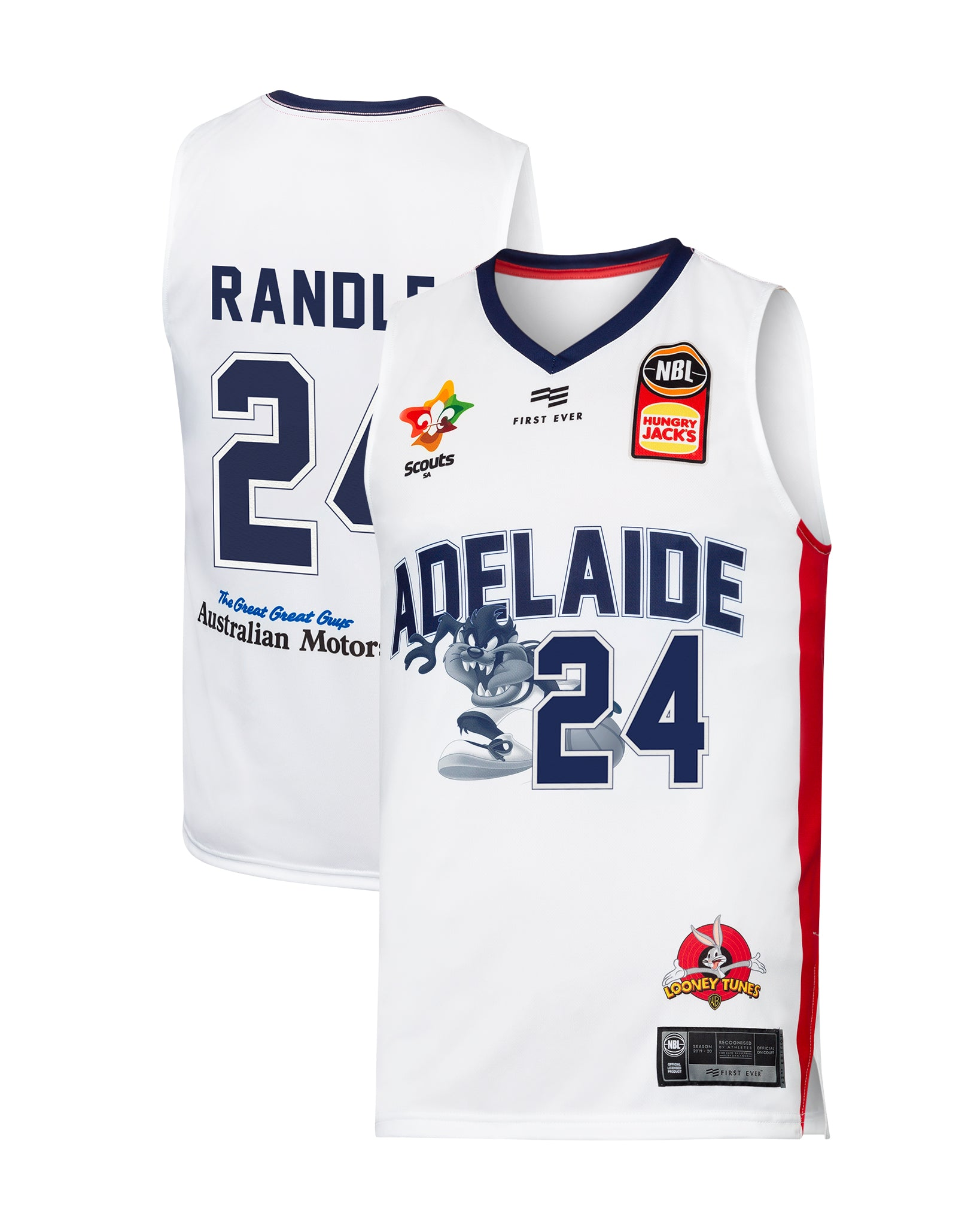 Adelaide 36ers 19/20 Looney Tunes Jersey - Jerome Randle