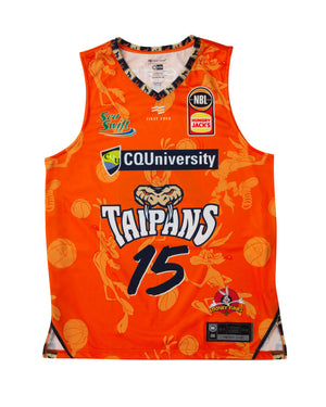 Cairns Taipans 19/20 Looney Tunes Jersey - Nate Jawai
