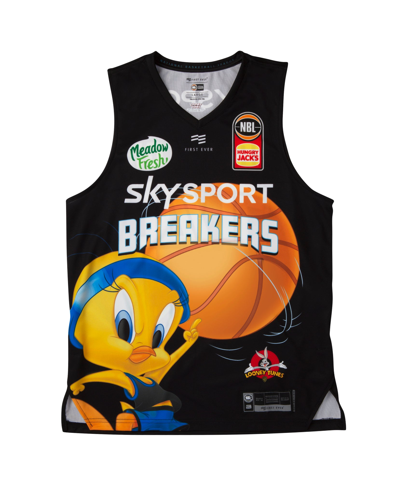 New Zealand Breakers 19/20 Looney Tunes Jersey