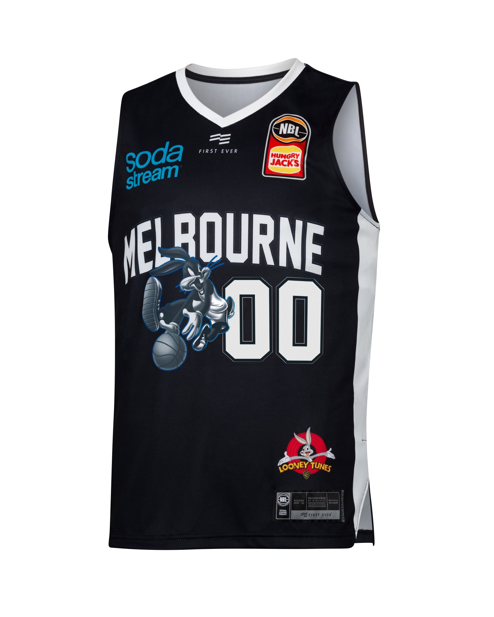 Personalised Melbourne United 19/20 Looney Tunes Jersey