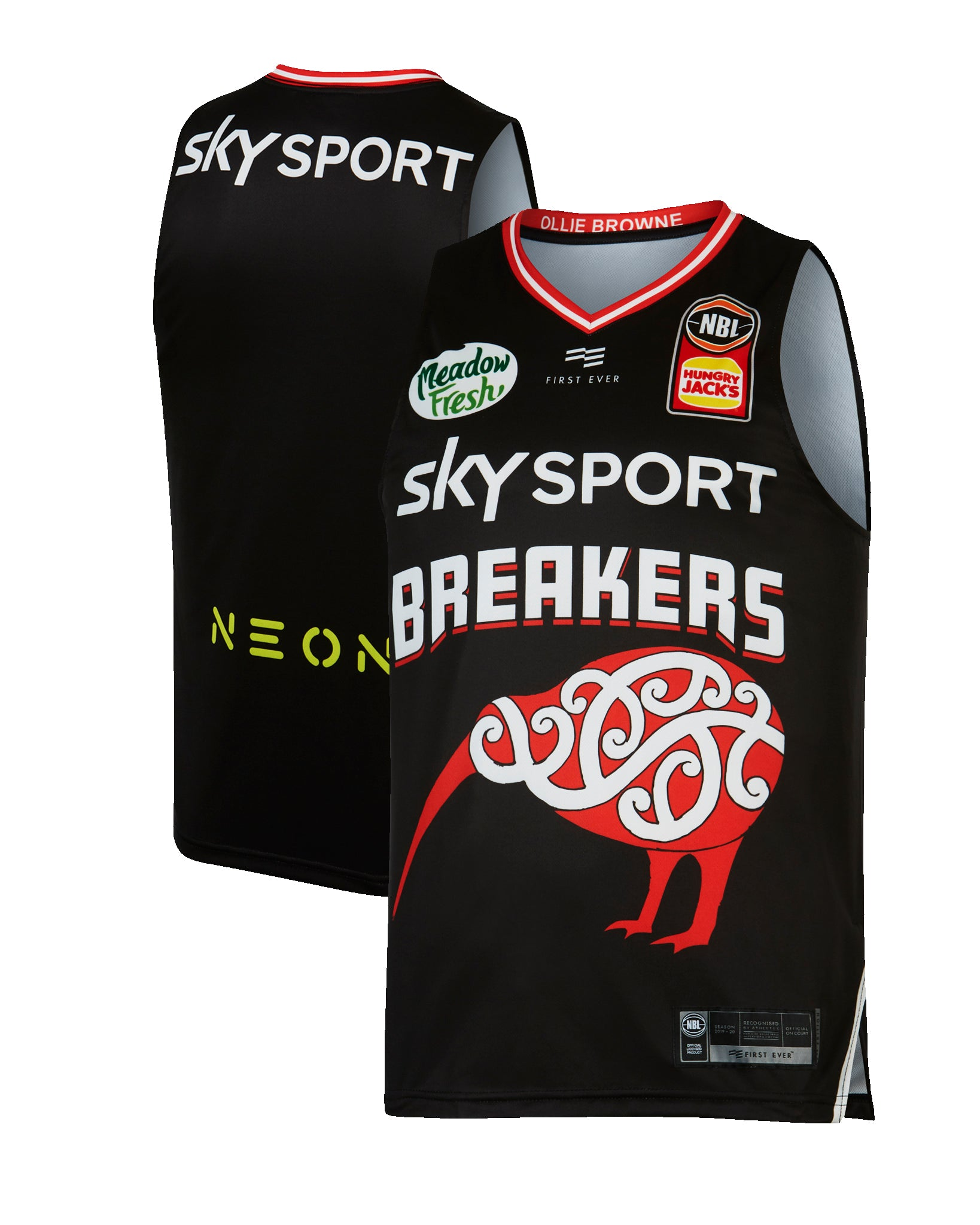 New Zealand Breakers 19/20 Indigenous Jersey