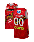 Personalised Perth Wildcats 19/20 Indigenous Jersey