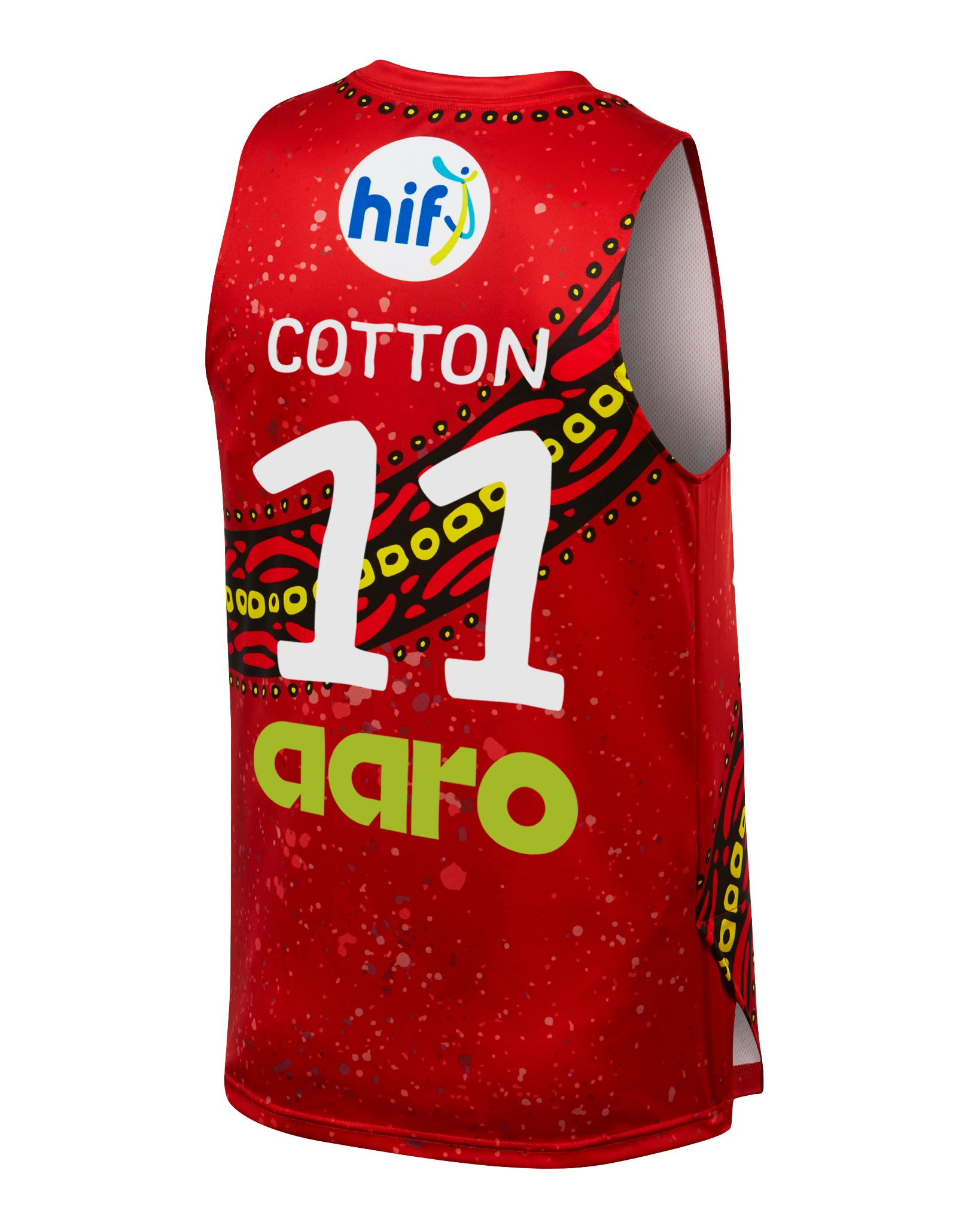 Perth Wildcats 19/20 Indigenous Jersey - Bryce Cotton