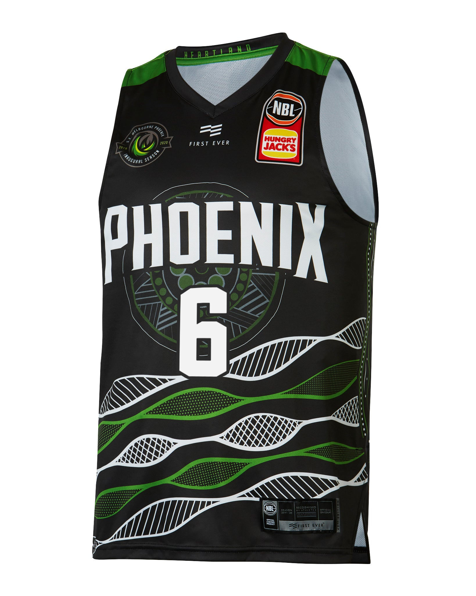 S.E. Melbourne Phoenix 19/20 Indigenous Jersey - Will Hickey