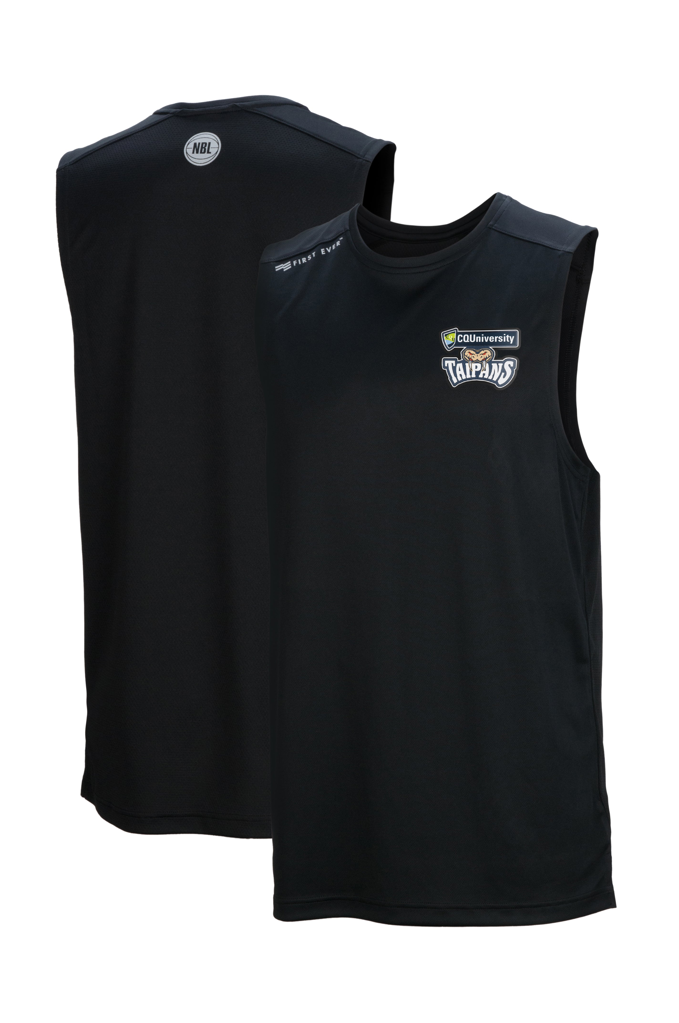 cairns-taipans-performance-tank - Front and Back Image