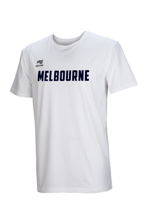 melbourne-united-wordmark-lifestyle-tee - Front Image