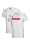 perth-wildcats-wordmark-lifestyle-tee - Front and Back Image