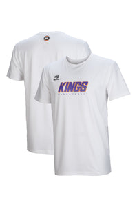 sydney-kings-wordmark-lifestyle-tee - Front and Back Image