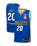 brisbane-bullets-19-20-youth-authentic-home-jersey-nathan-sobey - Front and Back Image
