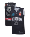 melbourne-united-19-20-youth-authentic-home-jersey-shawn-long - Front and Back Image
