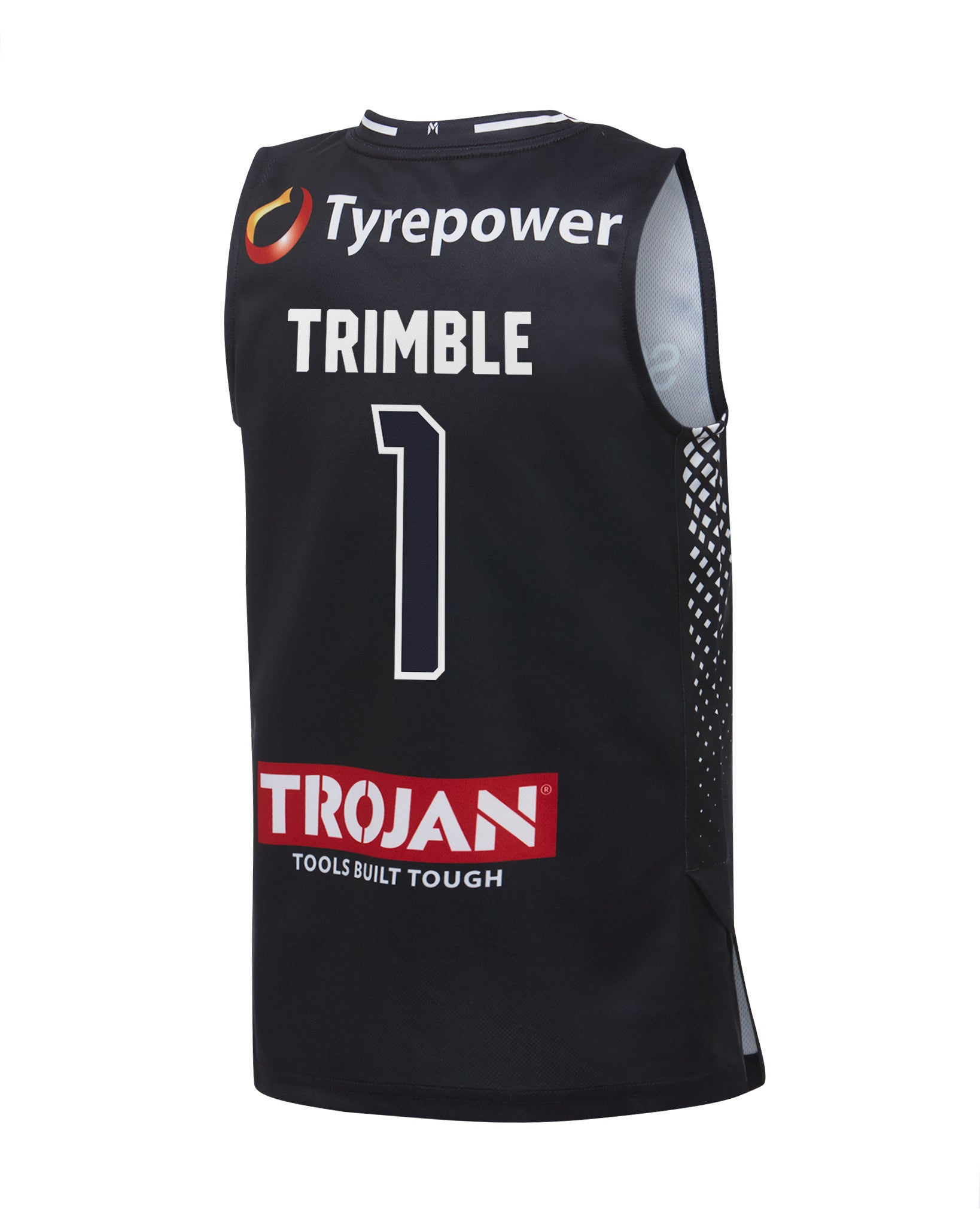 Melo Trimble Melbourne United 19//20 Youth Authentic Home Jersey