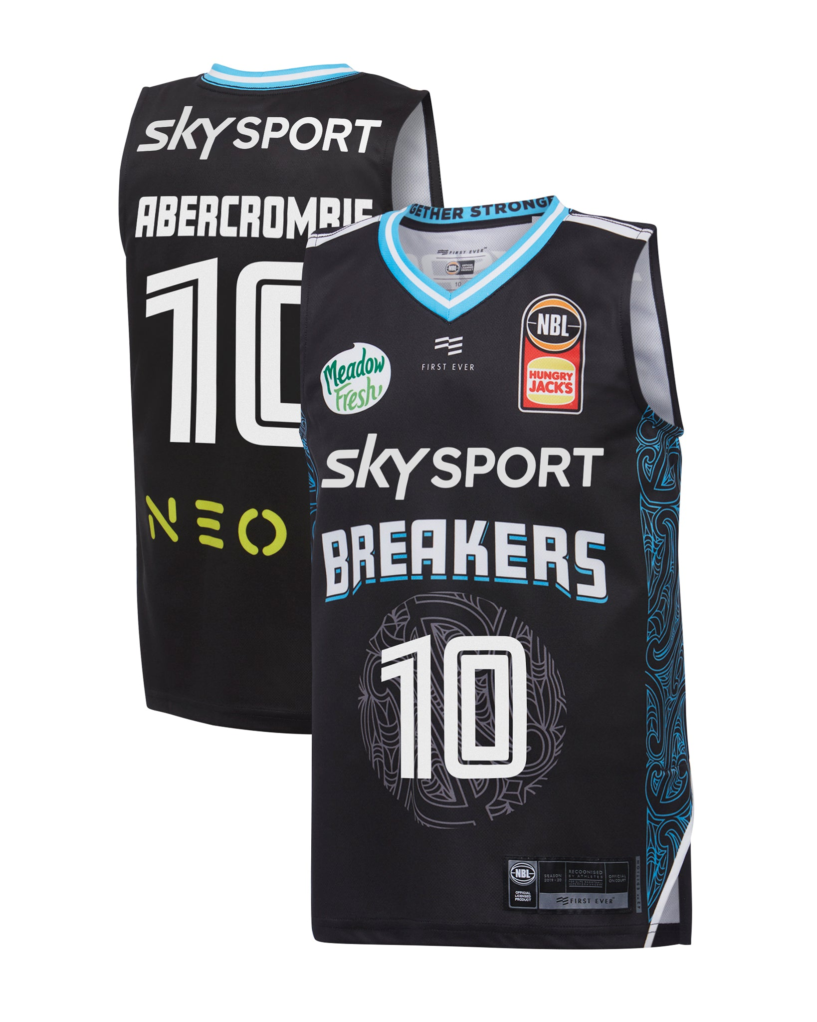 new-zealand-breakers-19-20-youth-authentic-home-jersey-tom-abercrombie - Front and Back Image