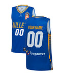 Personalised Brisbane Bullets 19/20 Youth Authentic Home Jersey