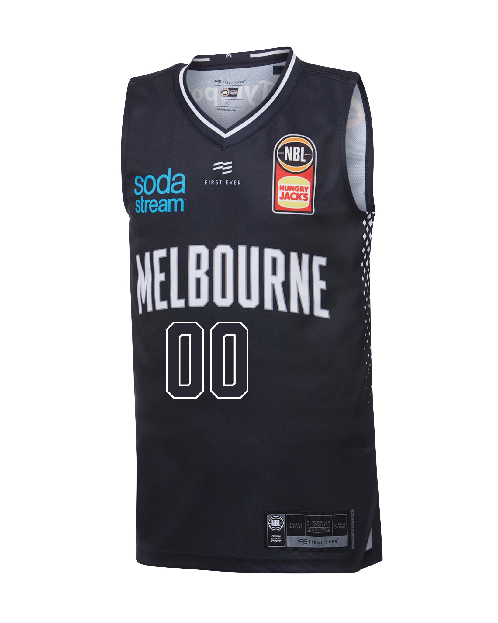 Personalised Melbourne United 19/20 Youth Authentic Home Jersey