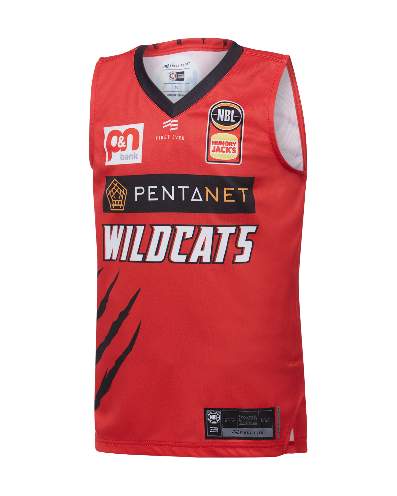 Perth Wildcats 19/20 Youth Authentic Home Jersey